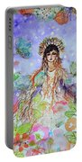 An Angel For All Of The Chakras And Her Name Is Simplicity Portable Battery Charger