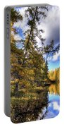 An Autumn Day At Woodcraft Camp Portable Battery Charger