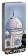 An Extraordinary View - The Taj Mahal Portable Battery Charger