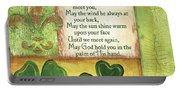 An Irish Blessing Portable Battery Charger
