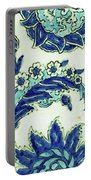 An Iznik Blue And White Pottery Tile, Turkey, 17th Century, By Adam Asar, No 18b Portable Battery Charger