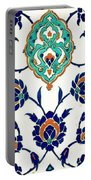 An Iznik Polychrome Tile, Turkey, Circa 1575, By Adam Asar, No 23h Portable Battery Charger