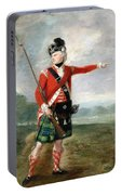 An Officer Of The Light Company Of The 73rd Highlanders Portable Battery Charger