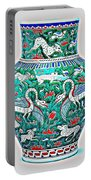 An Ottoman Iznik Style Floral Design Pottery Polychrome, By Adam Asar, No 7a Portable Battery Charger