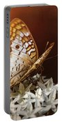Anartia Jatrophae - White Peacock Butterfly  Portable Battery Charger
