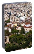 Ancient Agora Of Athens Portable Battery Charger