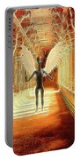 Ancient Alien Angel Portable Battery Charger