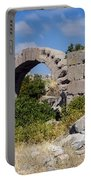 Ancient Bergama Acropolis Ruins Portable Battery Charger