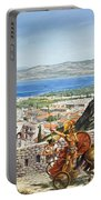 Ancient Corinth Portable Battery Charger