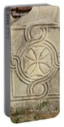 Ancient Cross Pattee Portable Battery Charger