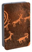 Ancient Indian Petroglyphs Portable Battery Charger