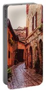 Ancient Italian Village Portable Battery Charger