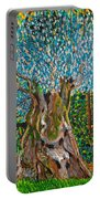 Ancient Olive Tree Portable Battery Charger
