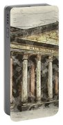 Ancient Pantheon Portable Battery Charger