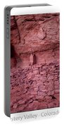 Ancient Ruins Mystery Valley Colorado Plateau Arizona 02 Text Portable Battery Charger