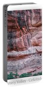 Ancient Ruins Mystery Valley Colorado Plateau Arizona 03 Text Portable Battery Charger