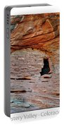 Ancient Ruins Mystery Valley Colorado Plateau Arizona 05 Text Portable Battery Charger