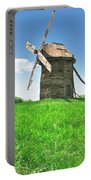 Ancient Windmills In Field Portable Battery Charger
