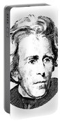 Andrew Jackson Red White And Blue Portable Battery Charger