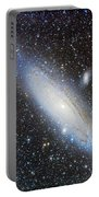Andromeda Galaxy With Companions Portable Battery Charger