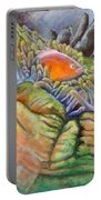 Anemone Coral And Fish Portable Battery Charger