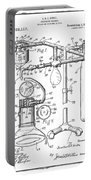 Anesthetic Machine Patent 1919  Portable Battery Charger
