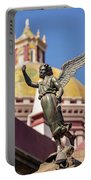 Angel And Cathedral Portable Battery Charger
