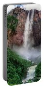 Angel Falls Canaima National Park Venezuela Portable Battery Charger by Dave Welling
