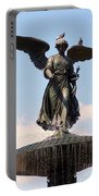 Angel Of The Waters Pigeons Portable Battery Charger