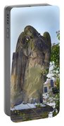 Angel On Graveyard Portable Battery Charger