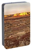Angel Peak Badlands - New Mexico - Landscape Portable Battery Charger