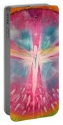 Angel Shining On Your Path Portable Battery Charger