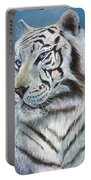 Angel The White Tiger Portable Battery Charger