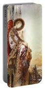 Angel Traveller Portable Battery Charger by Gustave Moreau