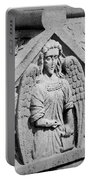 Angel With Scroll Carving Portable Battery Charger