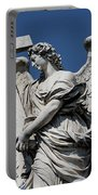 Angel With The Cross Portable Battery Charger