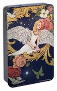 Angels Dream Portable Battery Charger by Melodye Whitaker