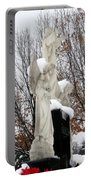 Angels In The Winter Portable Battery Charger