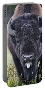 Angry Bison Portable Battery Charger