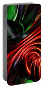 Angry Clown Abstract Portable Battery Charger