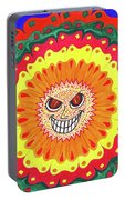 Angry Flower Portable Battery Charger