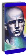 Angry Young Man Portable Battery Charger