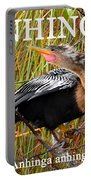 Anhinga The Swimming Bird Portable Battery Charger