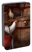 Animal - Chicken - The Duck Is A Spy  Portable Battery Charger