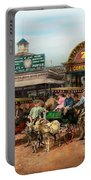 Animal - Goats - Coney Island Ny - Kid Rides 1904 Portable Battery Charger