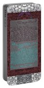 Animal  Ketubah- Reformed And Interfaith Version Portable Battery Charger