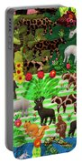 Animal Tapestry Portable Battery Charger