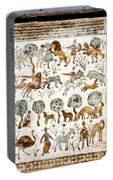 Animals Past And Present Portable Battery Charger