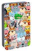 Animals Zoo Portable Battery Charger