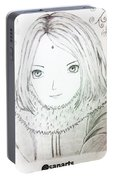 Anime Drawing  Portable Battery Charger